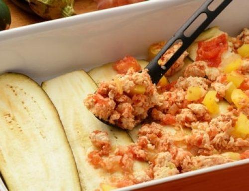 Recept: Koolhydraatarme lasagne met aubergine en courgette